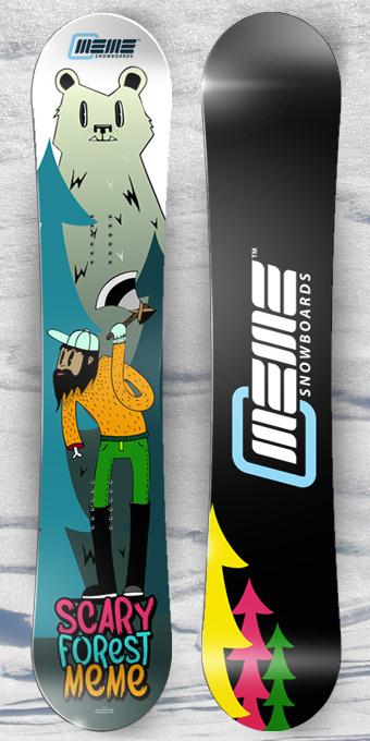 MEME Snowboards